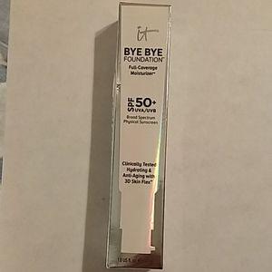 NIB BYE BYE Foundation Full Coverage w/SPF 50